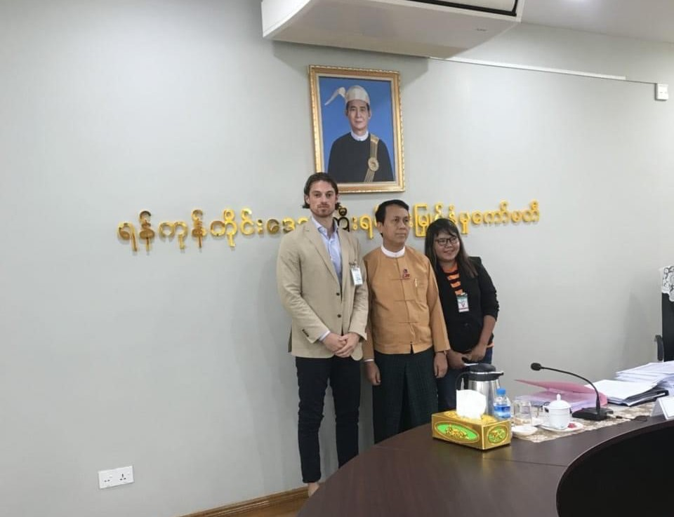 Meeting with Yangon Regional Government 1