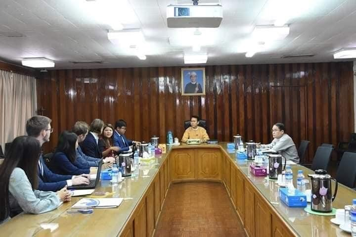 Meeting with Yangon Regional Government 3
